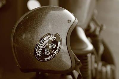 Hollywood Motorcycle   Art Print
