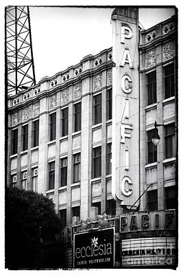 Photograph - Hollywood Pacific Theater by John Rizzuto