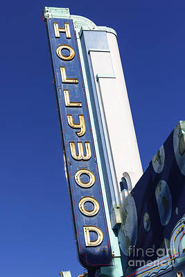Photograph - Hollywood Sign In Hollywood California by Paul Velgos