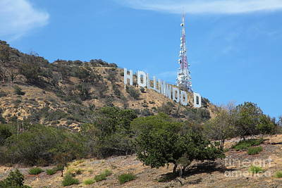 Photograph - Hollywood Sign In Los Angeles California 5d28483 by Wingsdomain Art and Photography