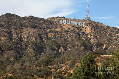Hollywood Sign In Los Angeles California 5d28486 Art Print by Wingsdomain Art and Photography