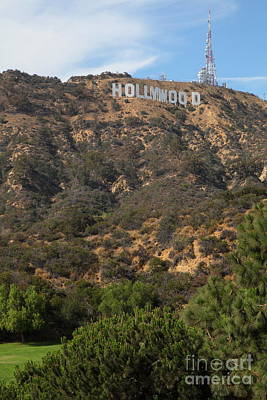 Hollywood Sign In Los Angeles California 5d28488 Art Print by Wingsdomain Art and Photography