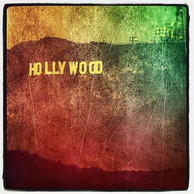 Hollywood Photograph - Hollywood Sign by Jill Battaglia