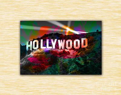 Hollywood Sign Print by Marvin Blaine