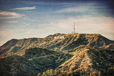 Photograph - Hollywood Sign by Natasha Bishop