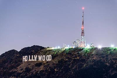 Photograph - Hollywood Star Trails by Jason Chu