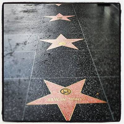 Hollywood Photograph - #hollywood #walkoffame #tour #tourist by Jill Battaglia