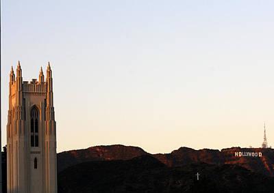 Photograph - Hollywood's Religion by David Nicholls