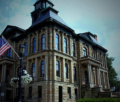 Holmes County Ohio Courthouse Art Print