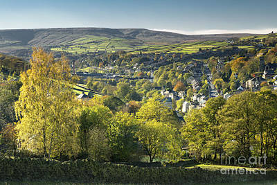 Holmfirth And The Holme Valley Print by John Potter