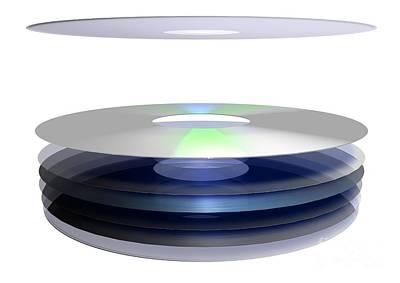 Holographic Versatile Disc, Artwork Art Print