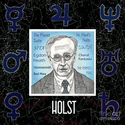 Holst Art Print by Paul Helm