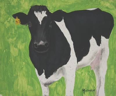 Pastel - Holstein by Michele Turney