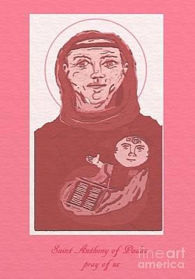 Holy Anthony Of Padua Original