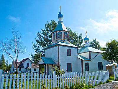 Holy Assumption Of The Virgin Mary Russian Orthodox Church In Old Town Kenai-ak  Original
