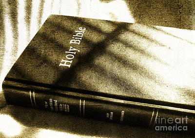 Holy Bible Art Print by Andrea Anderegg