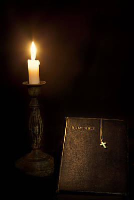 Old Testament Trinity Photograph - Holy Bible by Bill Wakeley