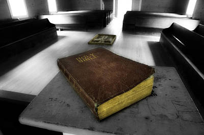 Photograph - Holy Bible by Michael Eingle