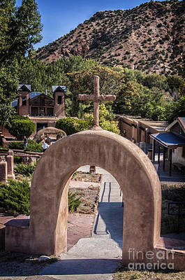 Photograph - Holy Chimayo by Terry Rowe