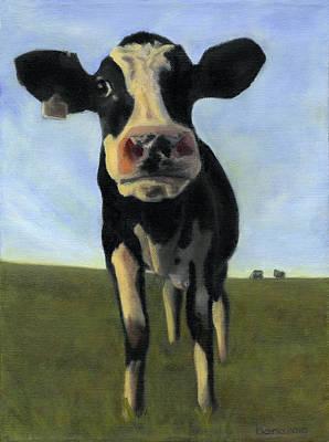 Holy Cow Art Print by Dana Feagin