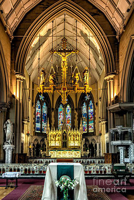 Aisle Photograph - Holy Cross by Adrian Evans