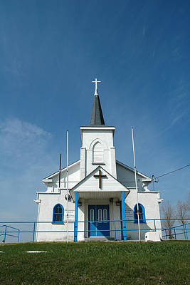 Photograph - Holy Cross Nektarios Greek Orthodox Church Crown Hill Ontario by John Jacquemain