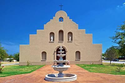 Photograph - Holy Family Catholic Church by Ricardo J Ruiz de Porras