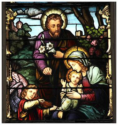 Photograph - Holy Family by Frank Wickham