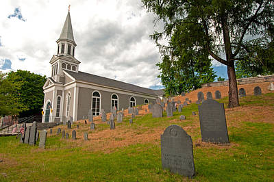 Photograph - Holy Family Parish - St. Bernard Church by Paul Mangold