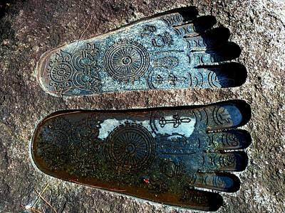 Holy Feet Art Print