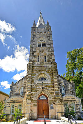 Photograph - Holy Ghost Lutheran Church by Allen Sheffield