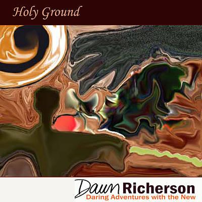 Burning Bush Digital Art - Holy Ground by Dawn Richerson