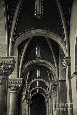 Mary Help Of The Romans Photograph - Holy Hill Archways by Christina Klausen