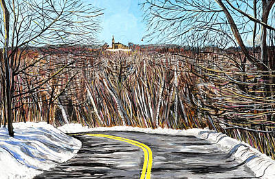 Of St. Augustine Painting - Holy Hill Viewpoint #1 St. Augustine  by Brad Geers