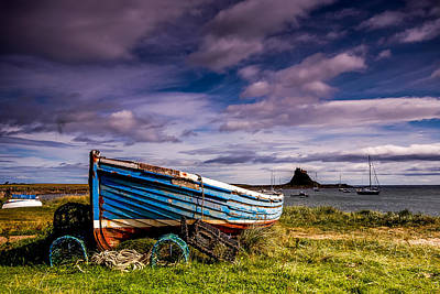 Roaring Red - Holy Island Northumberland by Dave Hudspeth