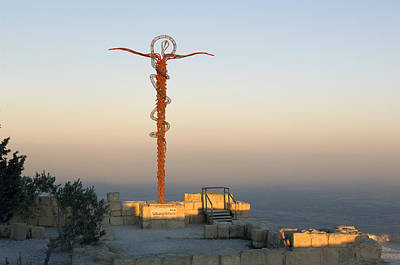 Mount Nebo Photograph - Holy Land by Christian Heeb