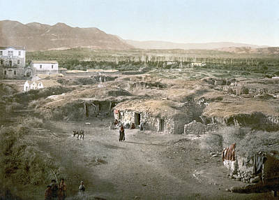 Jordan Painting - Holy Land Jericho, C1895 by Granger