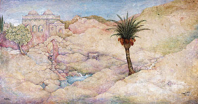Holy Land Art Print by Michoel Muchnik