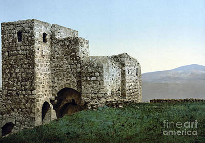 Photograph - Holy Land: Ruins by Granger