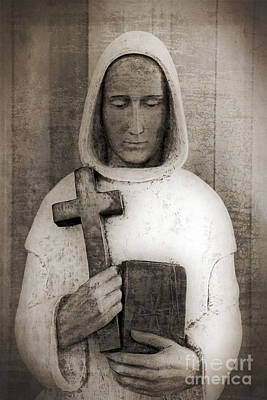 Holy Man Art Print by Edward Fielding