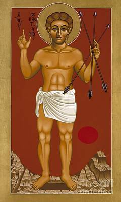 Holy Martyr St. Sebastian 032 Original by William Hart McNichols
