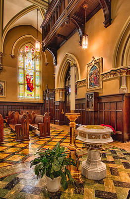 Our Lady Of Mt Carmel Photograph - Holy Place - Our Lady Of Mt. Carmel Church by Lindley Johnson