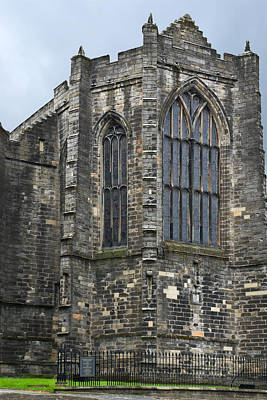 Photograph - Holy Rude Church - Stirling - Scotland by Jane McIlroy