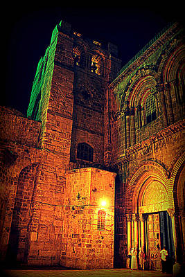 Photograph - Holy-sepulchre by Amr Miqdadi