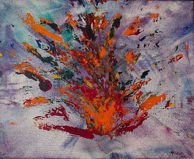 Painting - Holy Spirit Fire by Christine Nichols
