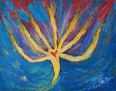 Painting - Holy Spirit Which Dwells In You by Cassie Sears