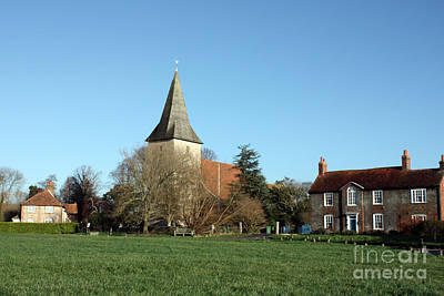 Photograph - Holy Trinity Church Bosham On Quay Meadow by Terri Waters