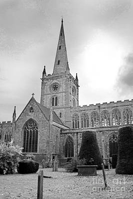 Photograph - Holy Trinity Church Stratford Upon Avon by Terri Waters