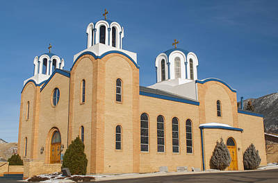 Photograph - Holy Trinity Orthodox Christian Church by Fran Riley