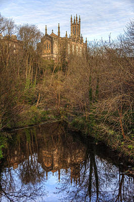 Photograph - Holy Trinity Reflections by Ross G Strachan